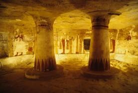 Egypt western desert Golden Mummies Valley
