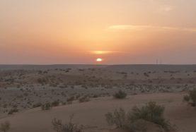 Egypt desert Crystal mountain