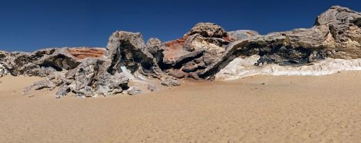 Egypt western desert Bahariya oasis crystal mountain